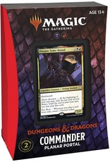 Wizards of the Coast Magic the Gathering CCG: Adventures in the Forgotten Realms Commander Deck - Planar Portal