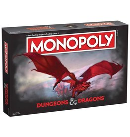 USAopoly Monopoly: Dungeons & Dragons