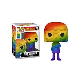 Funko Games Pop Figure Pride Bob's Burgers Tina Belcher Rainbow