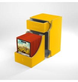 GameGenic Watchtower 100+ Card Convertible Deck Box: Yellow