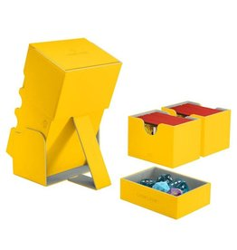 GameGenic Stronghold 200+ Card Convertible Deck Box: Yellow