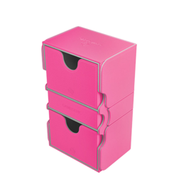 GameGenic Stronghold 200+ Card Convertible Deck Box: Pink