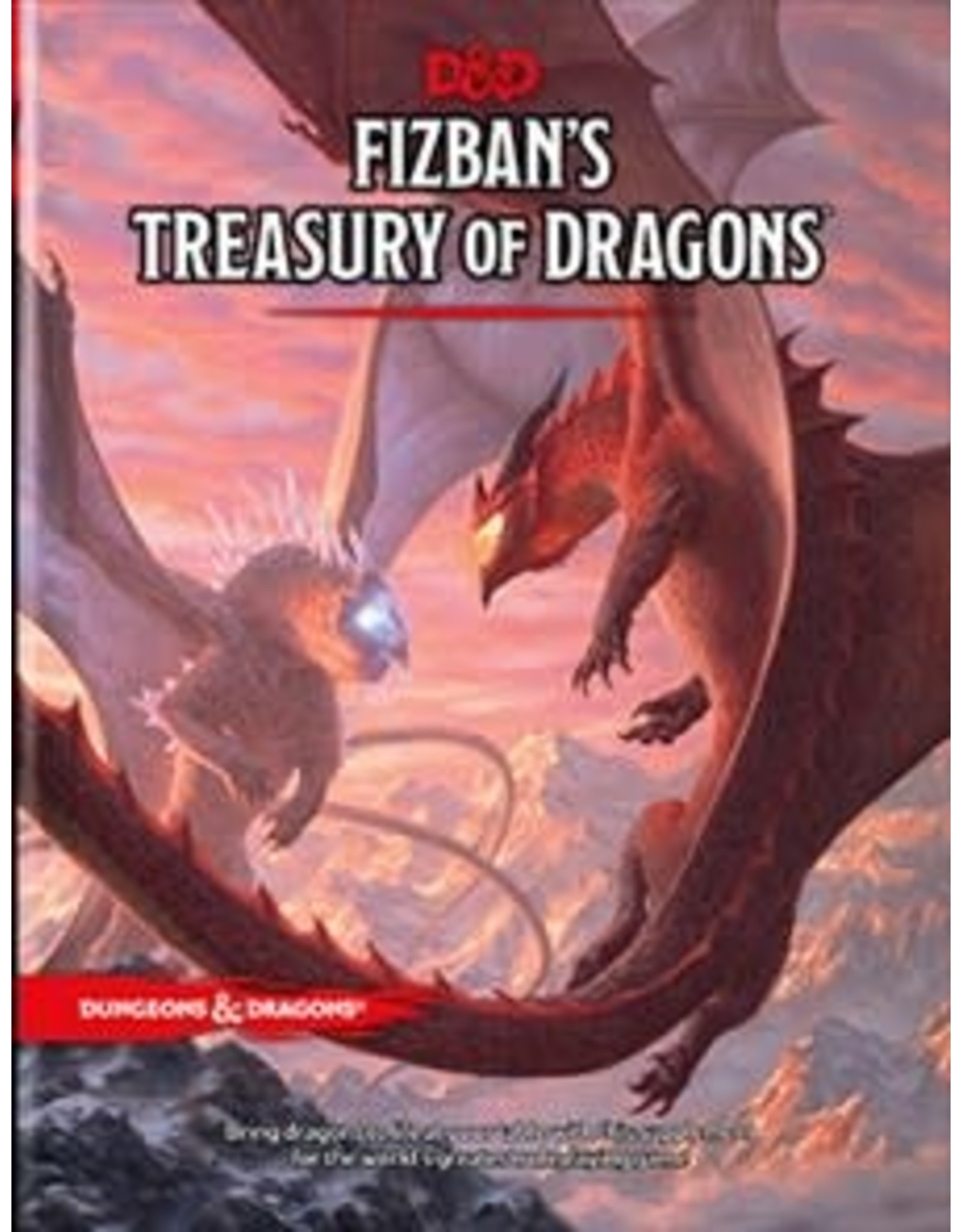 Wizards of the Coast Dungeons and Dragons RPG: Fizban's Treasury of Dragons Hard Cover