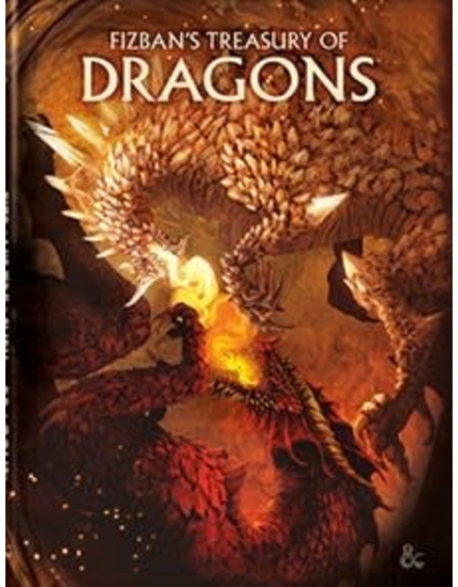 Wizards of the Coast Dungeons and Dragons RPG: Fizban`s Treasury of Dragons Hard Cover - Alternate Cover