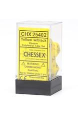 Chessex 7-setCubeOP YEbk