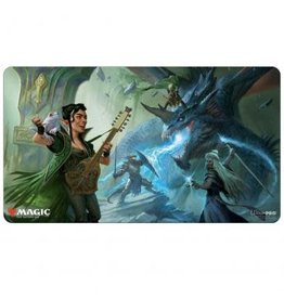 Ultra Pro Playmat: MtG: Adventures V1 Party Fighting the Blue Dragon