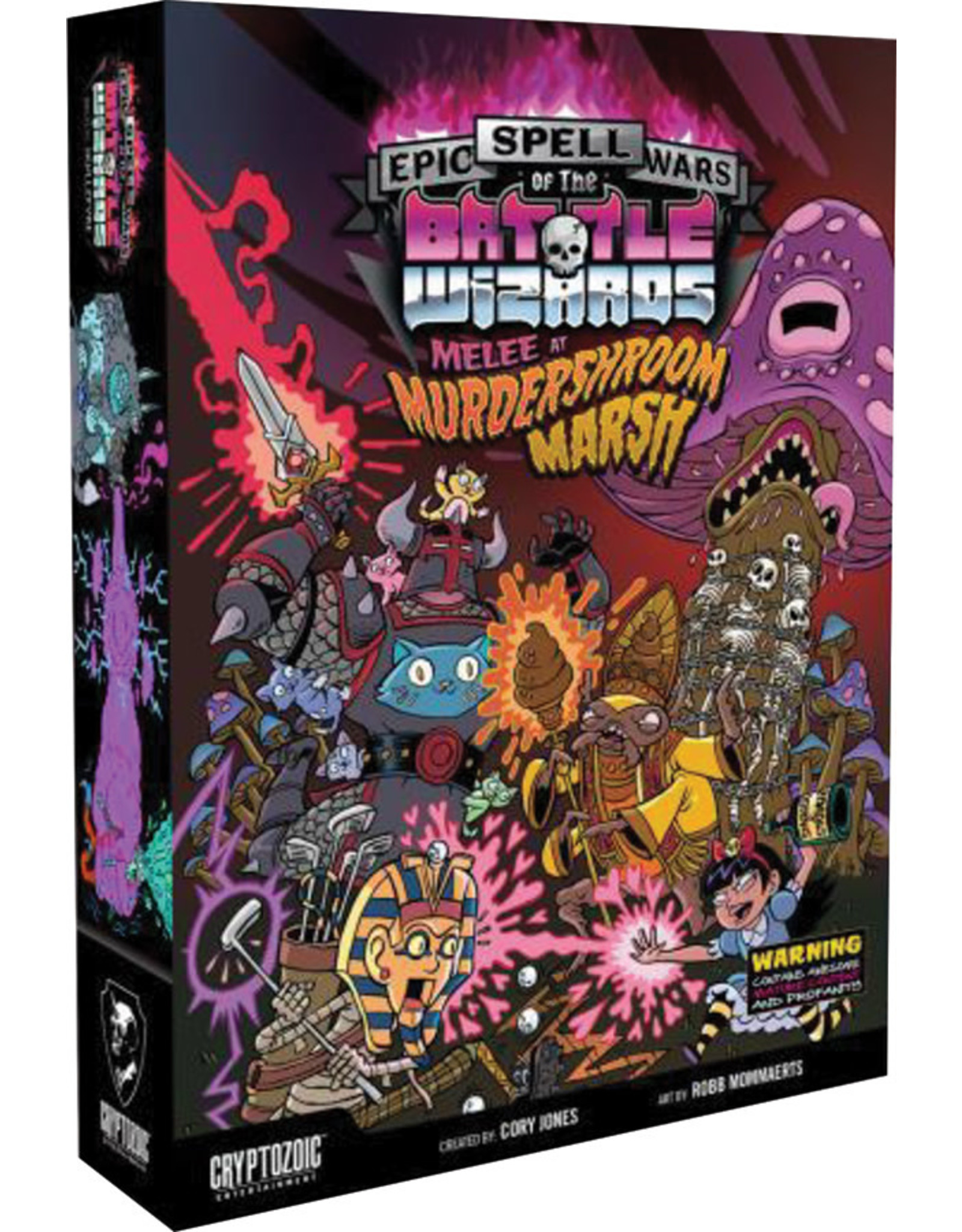 Cryptozoic Entertainment Epic Spell Wars of the Battle Wizards: 3 - Melee at Murdershroom Marsh (stand alone or expansion)