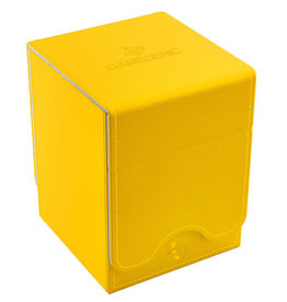 GameGenic Squire 100+ Card Convertible Deck Box: Yellow