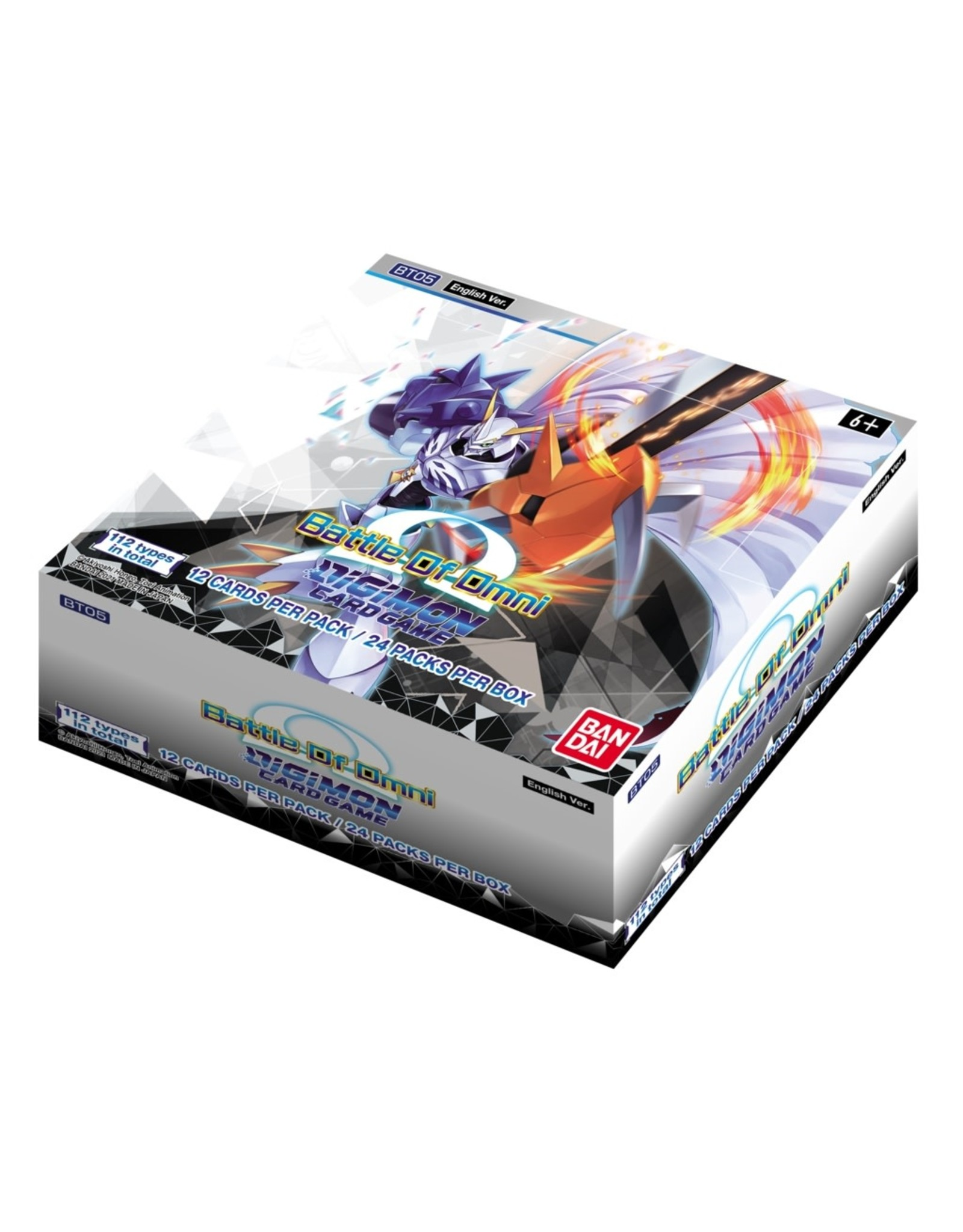 digimon TCG Digimon TCG: Battle of Omni Booster Display (24)
