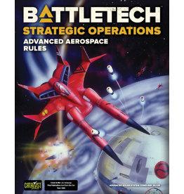 Catalyst Game Labs BattleTech: Strategic Operations - Advanced Aerospace Rules (2021)