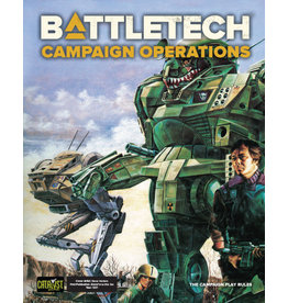 Catalyst Game Labs BattleTech: Campaign Operations (2021)