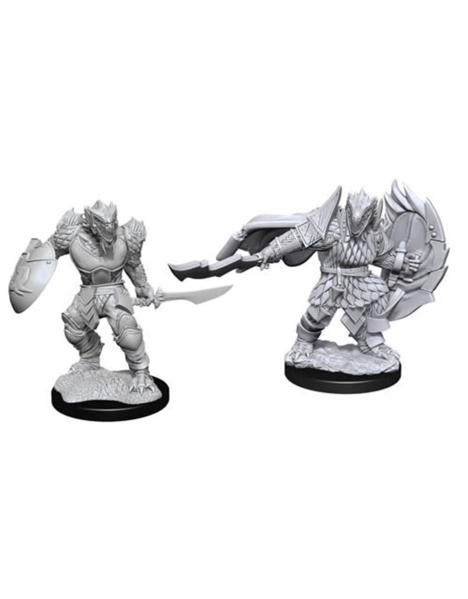 WizKids Dungeons & Dragons Nolzur`s Marvelous Unpainted Miniatures: W15 Dragonborn Fighter Male