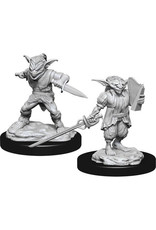 WizKids Dungeons & Dragons Nolzur`s Marvelous Unpainted Miniatures: W15 Male Goblin Rogue & Female Goblin Bard