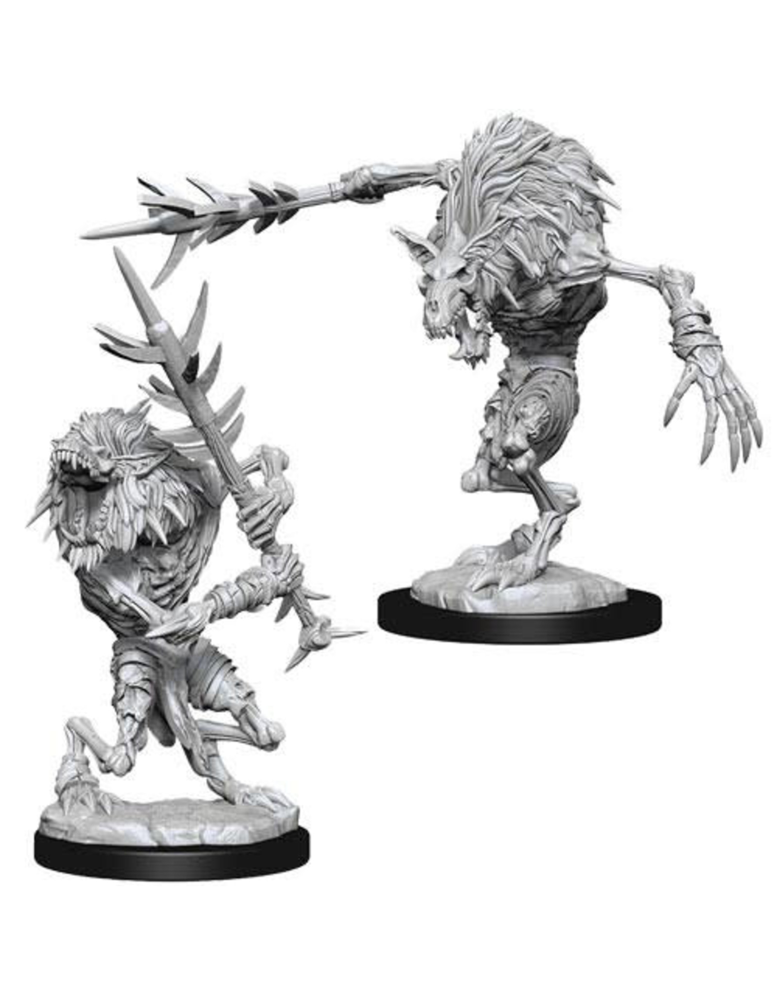 WizKids Dungeons & Dragons Nolzur`s Marvelous Unpainted Miniatures: W15 Gnoll Witherlings