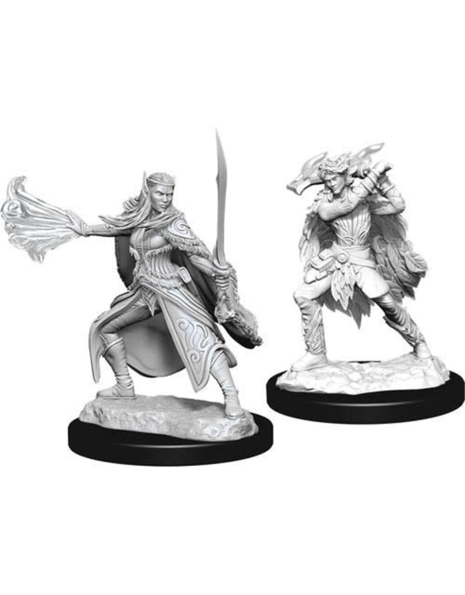 WizKids Dungeons & Dragons Nolzur`s Marvelous Unpainted Miniatures: W15 Winter Eladrin & Spring Eladrin