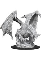WizKids Dungeons & Dragons Nolzur`s Marvelous Unpainted Miniatures: W15 Young Blue Dragon