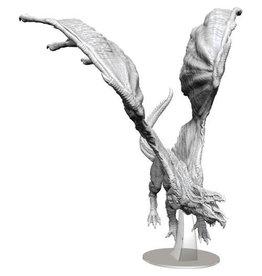 WizKids Dungeons & Dragons Nolzur`s Marvelous Unpainted Miniatures: W15 Adult White Dragon