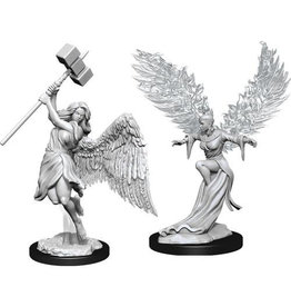 WizKids Pathfinder Deep Cuts Unpainted Miniatures: W15 Balisse & Astral Deva