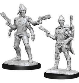 WizKids Starfinder Deep Cuts Unpainted Miniatures: W15 Kasatha Operative