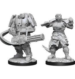 WizKids Starfinder Deep Cuts Unpainted Miniatures: W15 Vesk Soldier