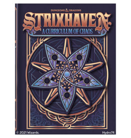 Wizards of the Coast Dungeons and Dragons RPG: Strixhaven - Curriculum of Chaos (HC Alt Cover)