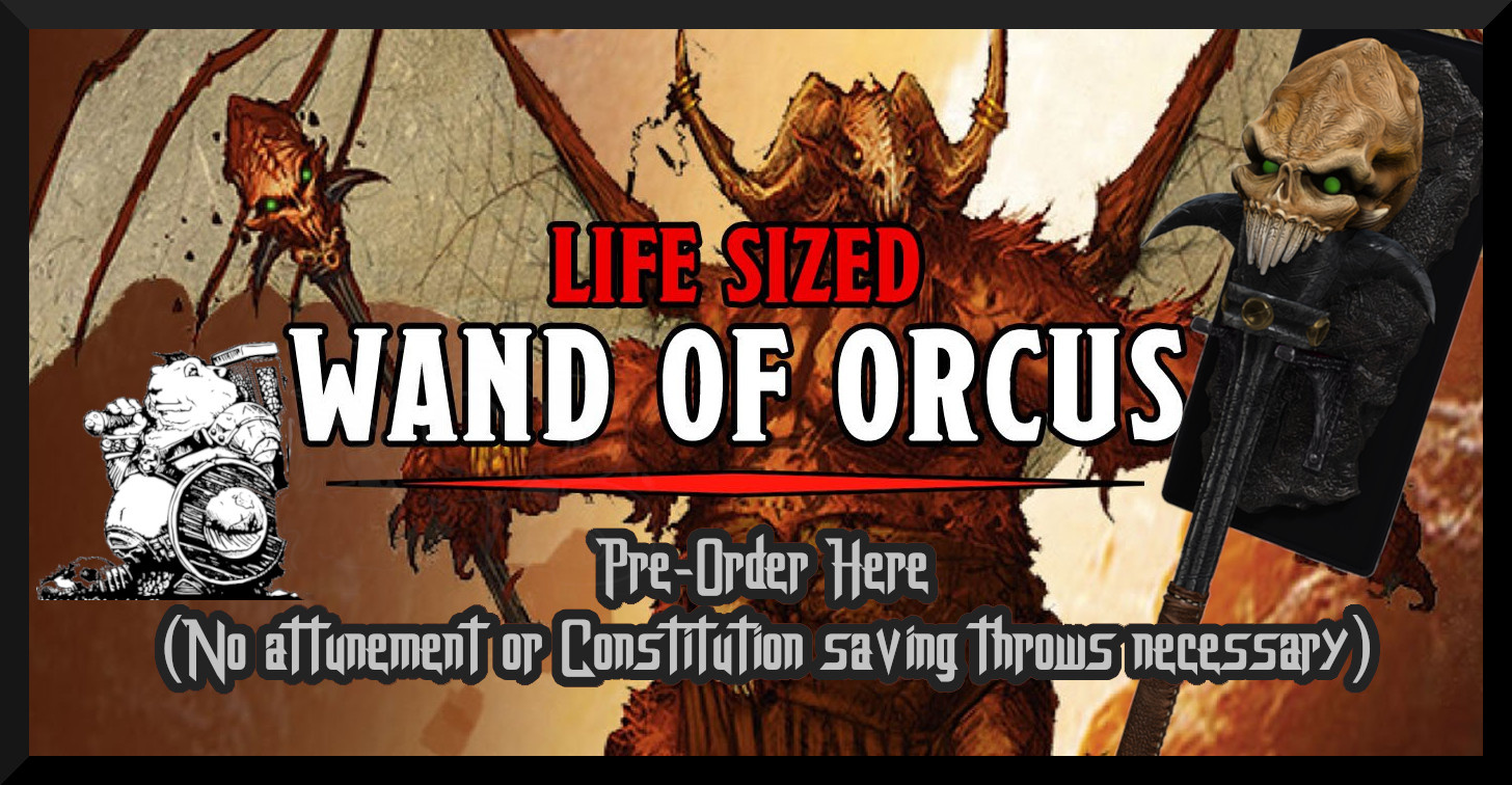 Life Size Wand of Orcus