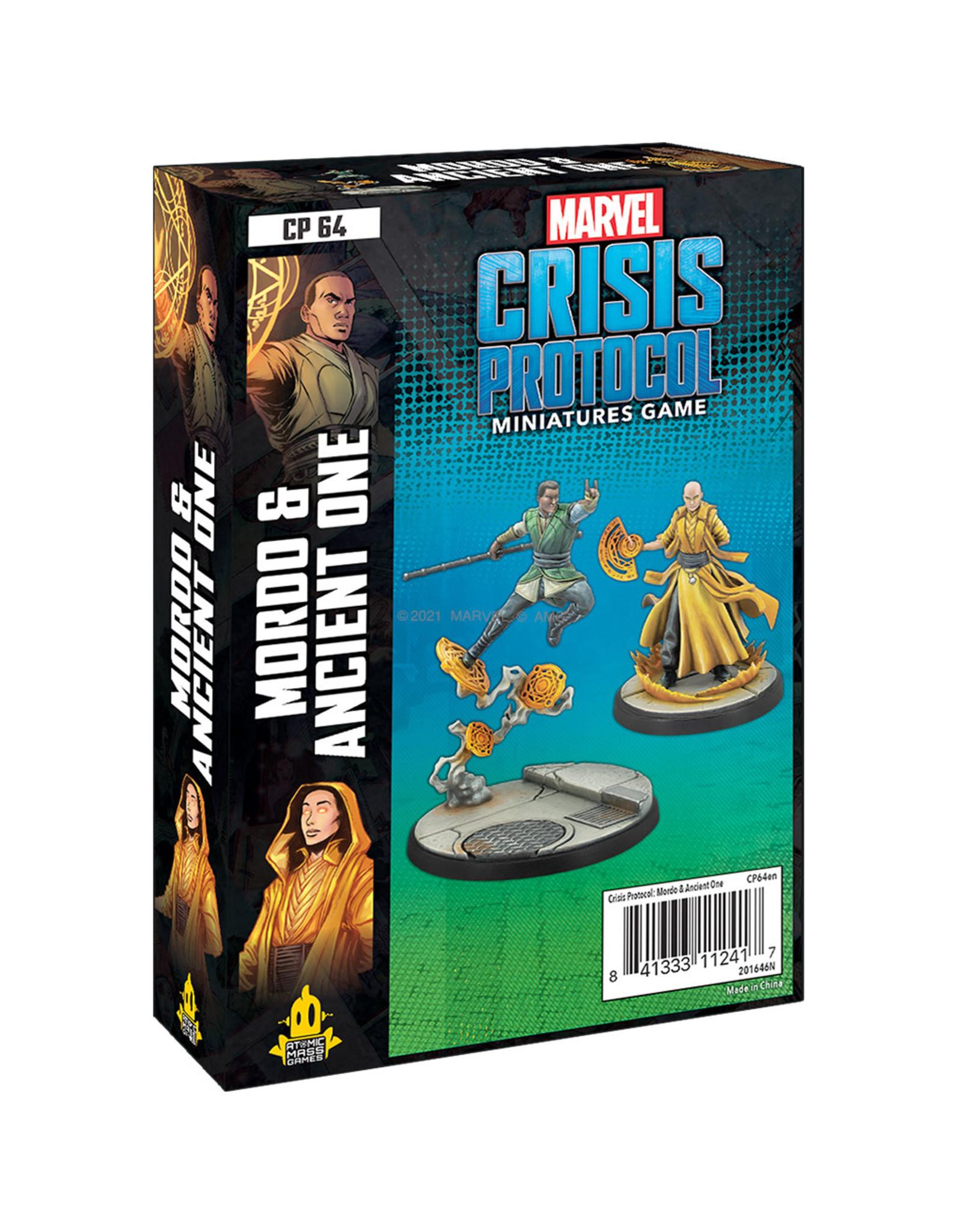Atomic Mass Games MARVEL CRISIS PROTOCOL: MORDO & ANCIENT ONE