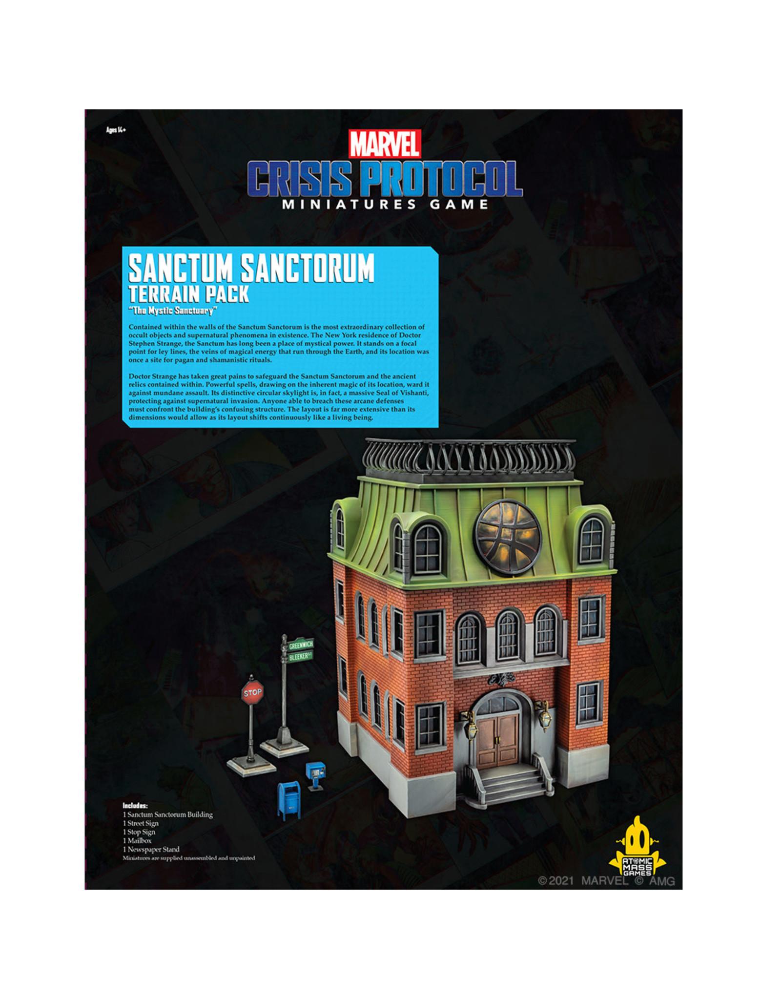 Atomic Mass Games MARVEL CRISIS PROTOCOL: SANCTUM SANCTORUM TERRAIN