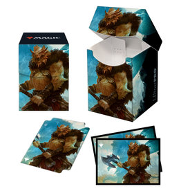 Ultra Pro Magic the Gathering CCG: Commander Adventures in the Forgotten Realms - PRO 100+ Deck Box and 100ct sleeves V1 Vrondiss