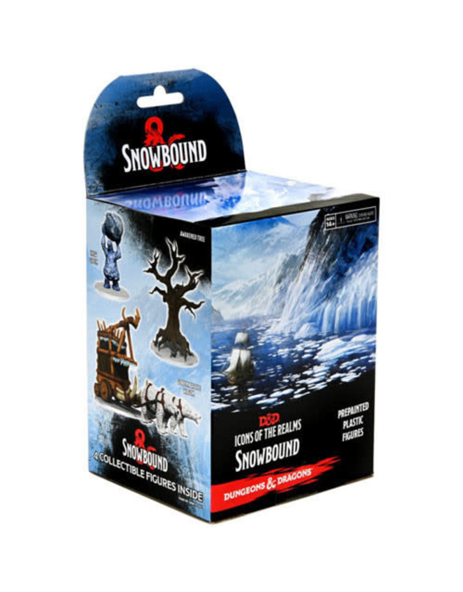 WizKids Dungeons & Dragons Fantasy Miniatures: Icons of the Realms Set 19 Snowbound Booster Brick (8) single