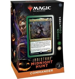 Wizards of the Coast MTG Innistrad Midnight Hunt Commander Deck - Coven Counters