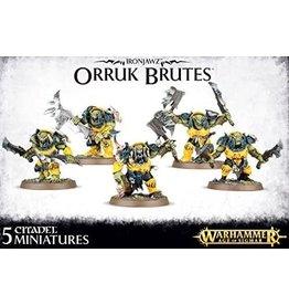 Games Workshop Orruk Warclans Orruk Brutes