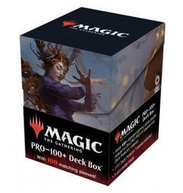 Ultra Pro Magic the Gathering CCG: Commander Innistrad Midnight Hunt PRO 100+ Deck Box and 100ct sleeves V1 Leinore