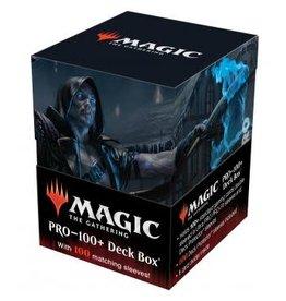 Ultra Pro Magic the Gathering CCG: Commander Innistrad Midnight Hunt PRO 100+ Deck Box and 100ct sleeves V2 Wilhelt