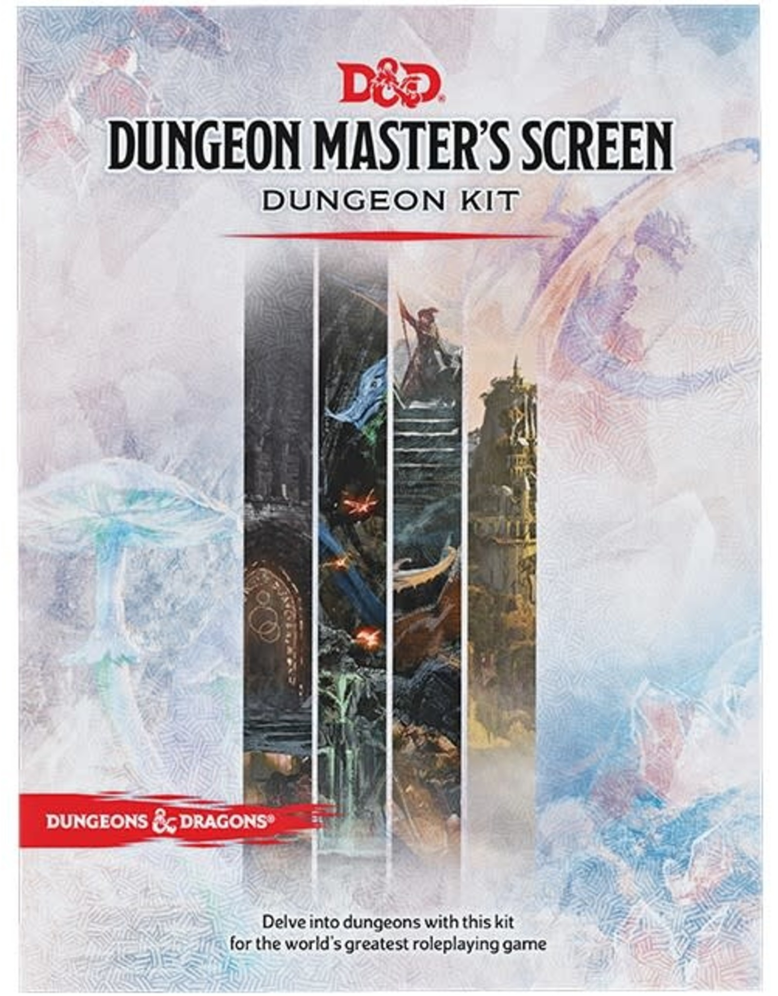White Wizard Games Dungeons and Dragons RPG: Dungeon Master's Screen Dungeon Kit