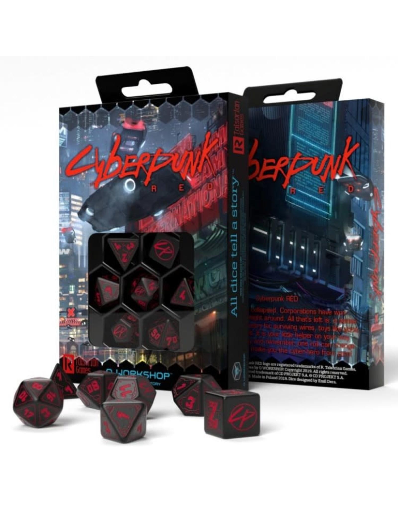 Q-Workshop 7-set Cyberpunk PRG