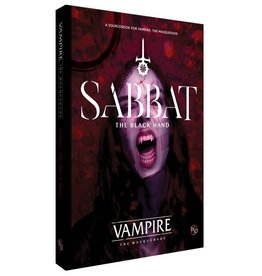 Renegade Game Studios Vampire The Masquerade: Sabbat - The Black Hand Sourcebook