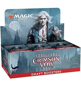 Wizards of the Coast Magic the Gathering CCG: Innistrad - Crimson Vow Draft Booster Box