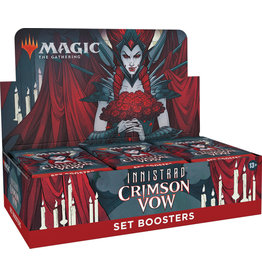 Wizards of the Coast Magic the Gathering CCG: Innistrad - Crimson Vow Set Booster Box