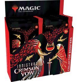 Wizards of the Coast Magic the Gathering CCG: Innistrad - Crimson Vow Collector Booster Box