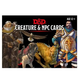 Gale Force 9 Dungeons and Dragons RPG: Monster Cards: NPCs & Creatures (182 cards)