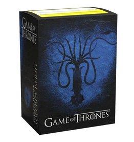 Arcane Tinmen Dragon Shields: Art: Brushed: GoT: Greyjoy (100)