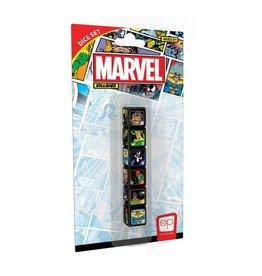 USAopoly Dice Set: d6 Marvel Villains (6)