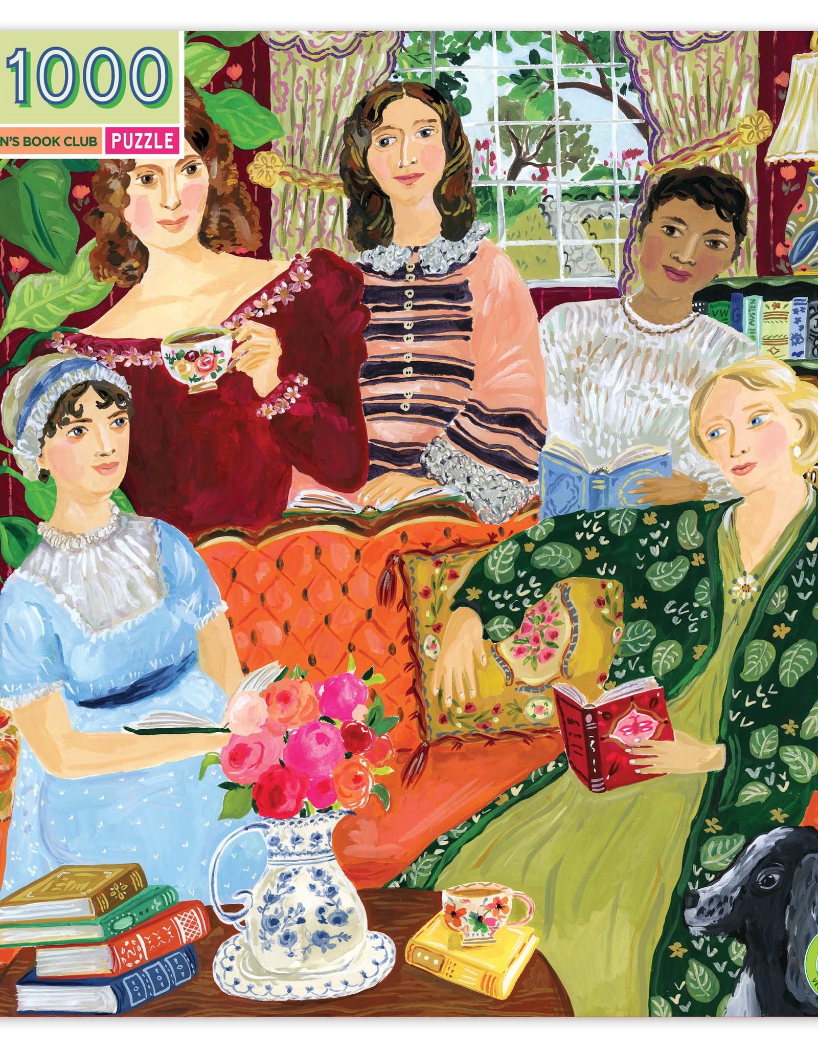 Eeboo 1000pc Puzzle Jane Austen's Book Club