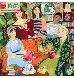 Eeboo 1000pc Puzzle Jane Austen's Book Club