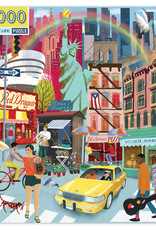Eeboo 1000pc Puzzle New York City Life
