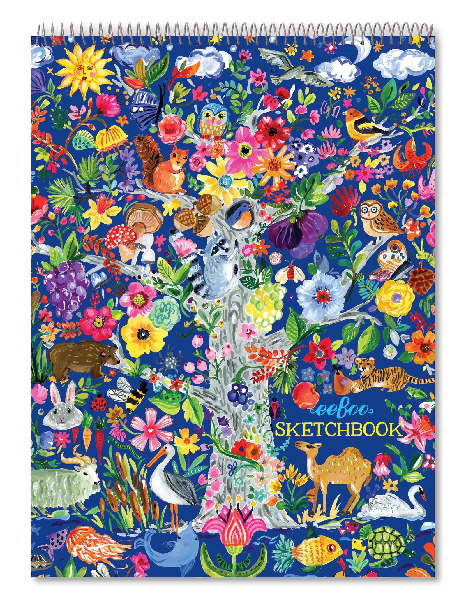 Eeboo Tree of Life Sketchbook