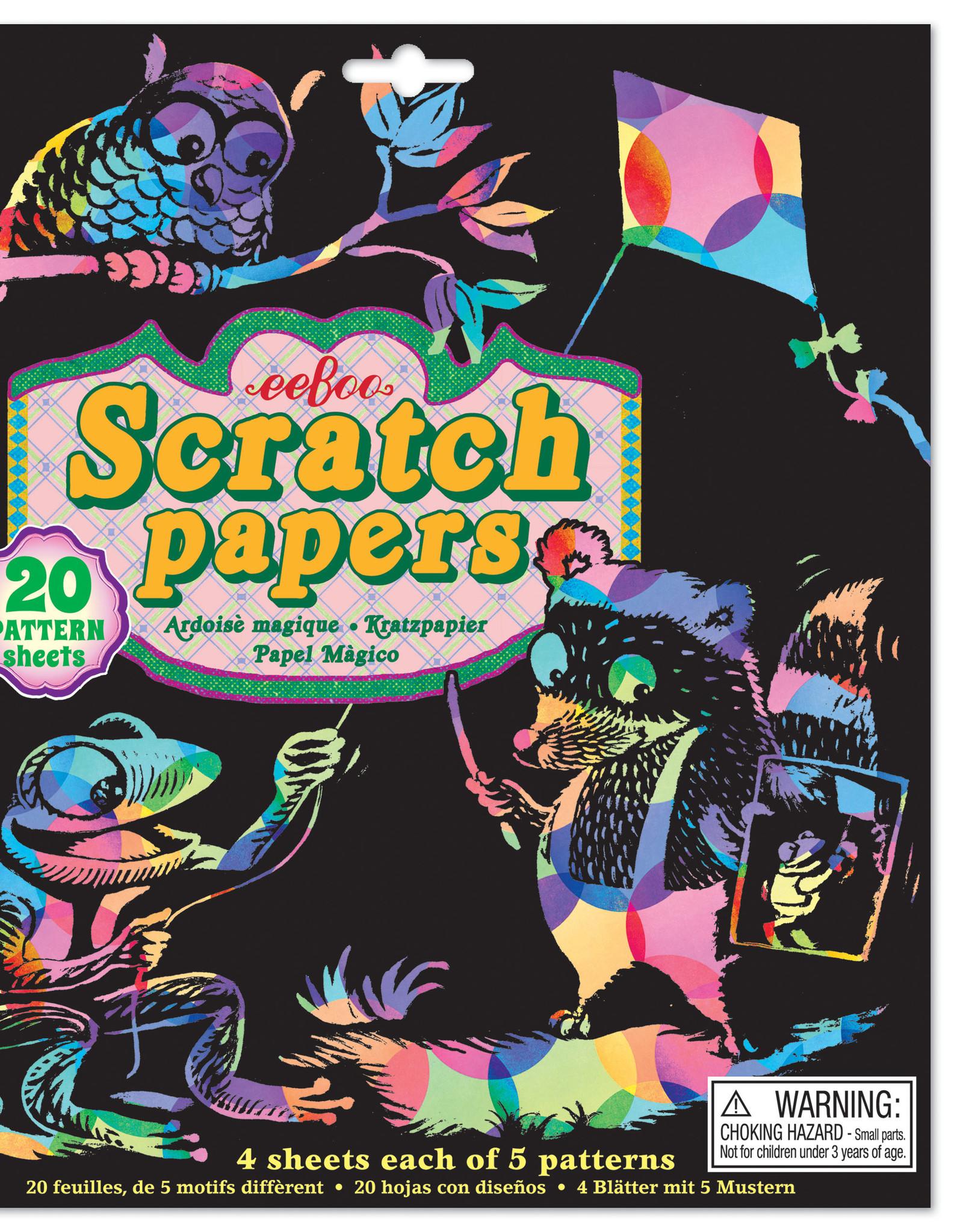 Eeboo Pattern Scratch Paper