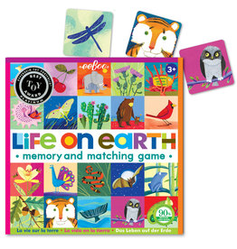 Eeboo Life on Earth Memory & Matching Game