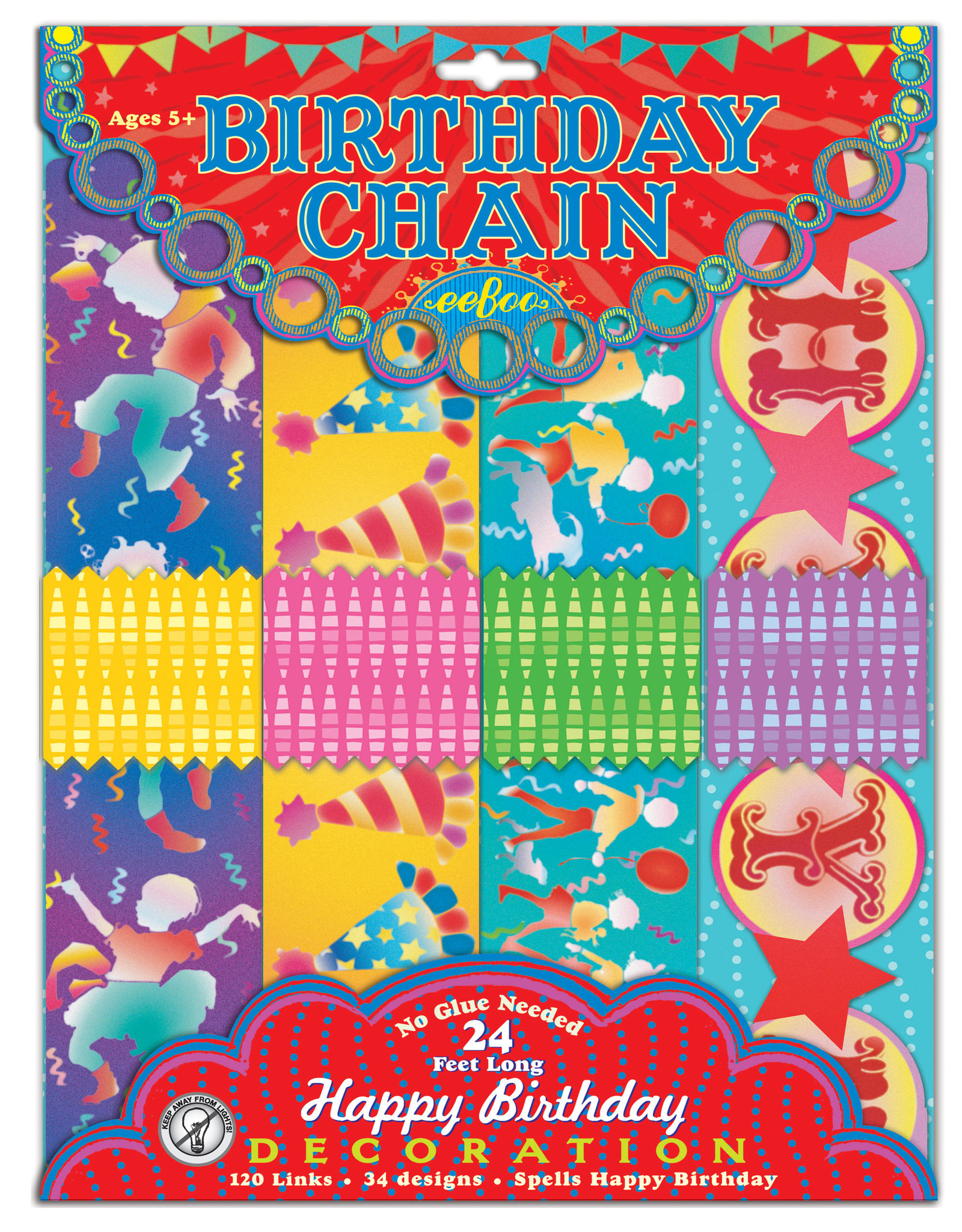 Eeboo Birthday Paper Chain